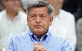 César Acuña declaró ante la Fiscalía por compra de casa en España