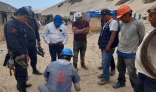 Arequipa: hallan cuerpos de mineros que estaba atrapados en socavón
