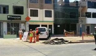 Fuga de gas alarmó a vecinos de San Martín de Porres