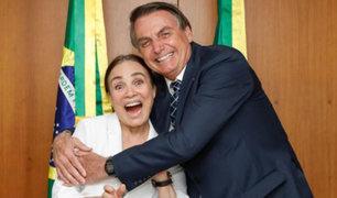 Brasil: designan a popular actriz Regina Duarte ministra de Cultura