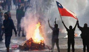 Chile: un muerto y 124 detenidos en nueva jornada de protestas