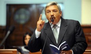 Beingolea habló fuerte y claro sobre ausencia del PPC en este nuevo periodo legislativo