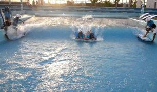 Asia Park: deporte y adrenalina en una piscina de olas artificiales