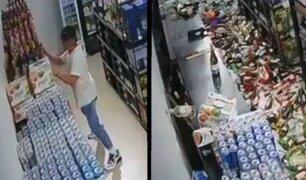Joven trató de salvar cervezas durante sismo de 7.7