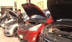 Delincuentes venden vehículos con autopartes robadas y placas clonadas