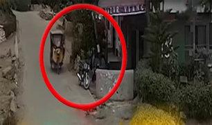 Carabayllo: asaltan a pareja en la puerta de su casa
