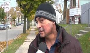 EEUU: enjuician a hombre que atacó a peruano con ácido