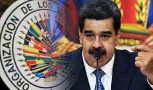 Maduro no permitirá ingreso a la Comisión de Derechos Humanos de la OEA a Venezuela