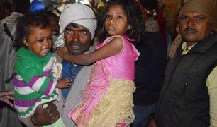Matan a secuestradores y rescatan a 23 niños  en la India