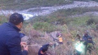 Tragedia en Huaura: cuatro muertos deja despiste y caía de camioneta al abismo