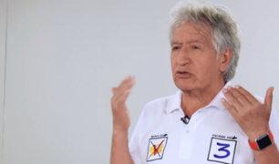 Virgilio Acuña se mostró a favor de pena de muerte para violadores y feminicidas