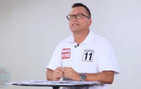 Alejandro Pachas propone que pensiones de jubilados sean nivelados al sueldo mensual