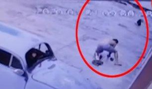Chorrillos: sujeto se lanzó de segundo piso de hostal tras asesinar a su enamorada
