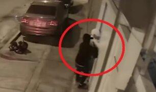Delincuentes intentan asaltar a vecino del ministro de Transportes Edmer Trujillo