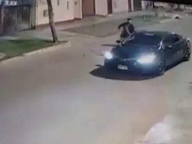 Surco: vecinos alertan de peligrosa modalidad de robo a transeúntes