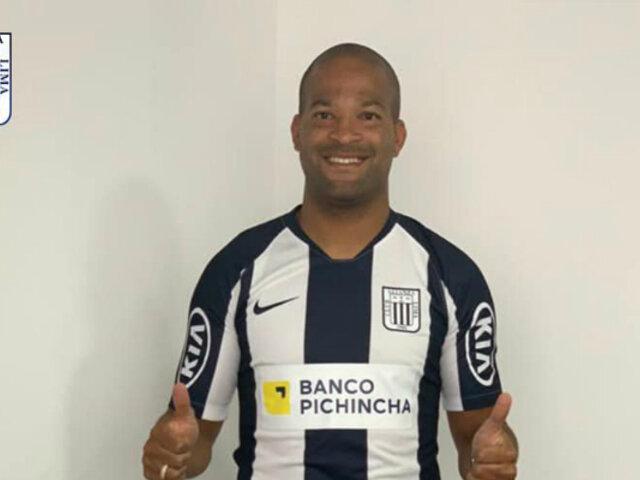 OFICIAL: 'Mudo' Rodríguez es nuevo jugador de Alianza Lima