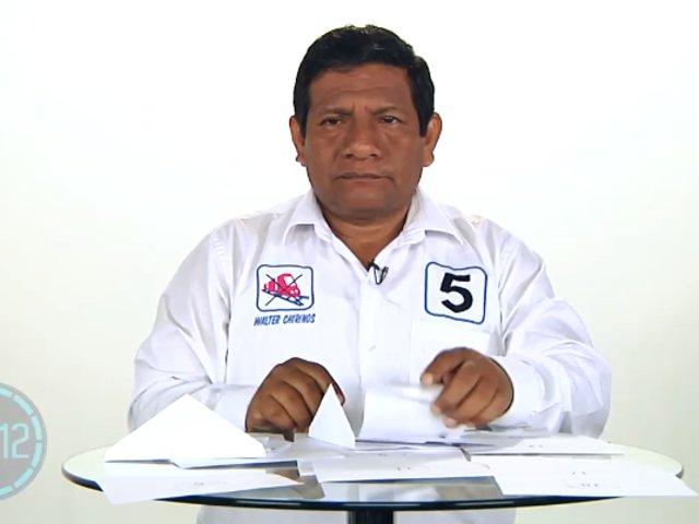 Walter Chirinos propone cambiar malla curricular para mejorar la educación en el Perú