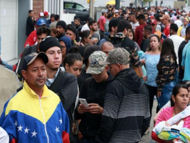 Acción Popular presenta proyecto de ley que busca anular PTP y repatriar a venezolanos