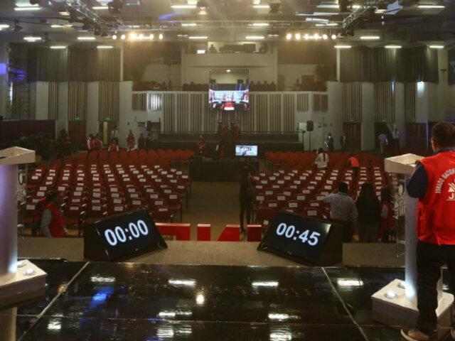 Elecciones 2020: anuncian fechas para debate de candidatos a Lima