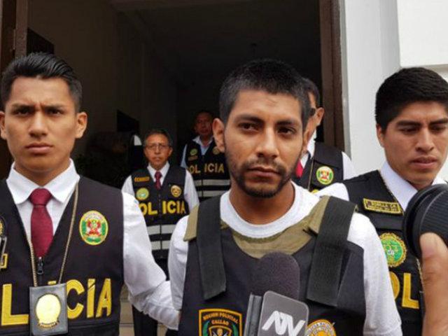 Callao: presentan a sicario que mató a testigo protegido