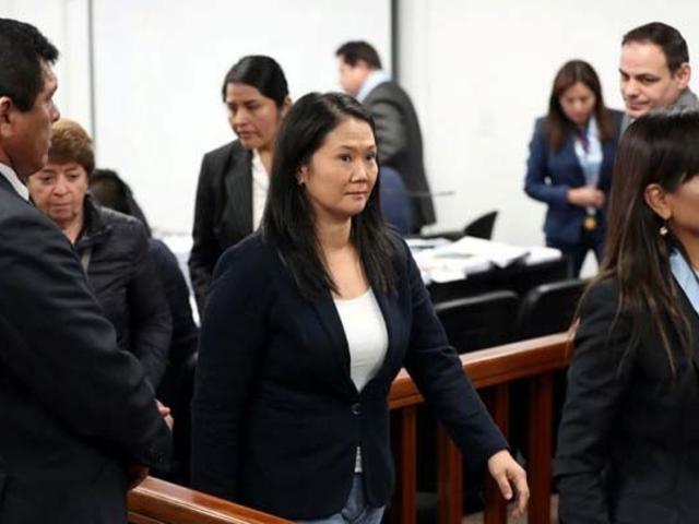 Justicia decide hoy si Keiko Fujimori regresa a prisión tras permanecer dos meses en libertad