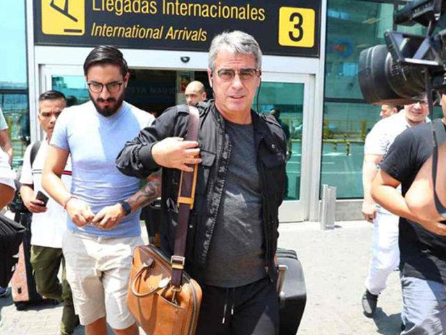 Pablo Bengoechea llega a Lima y lanza advertencia a jugadores aliancistas