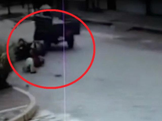 Moyobamba: motocicleta impacta aparatosamente contra furgoneta