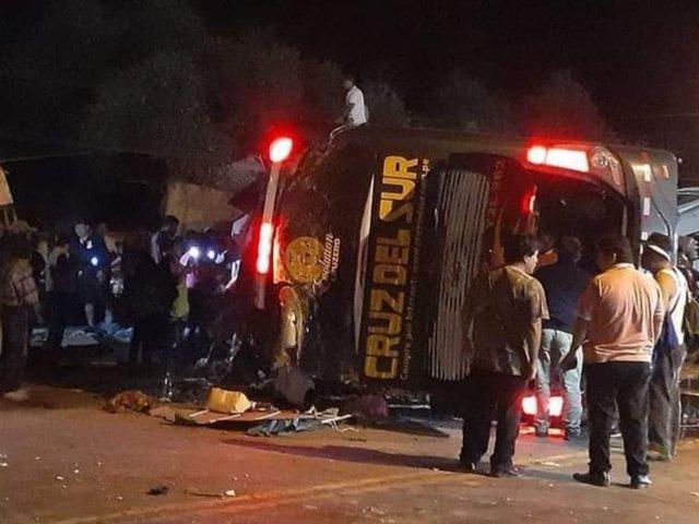 Tragedia en Arequipa: Sutran asegura que ómnibus siniestrado iba a excesiva velocidad