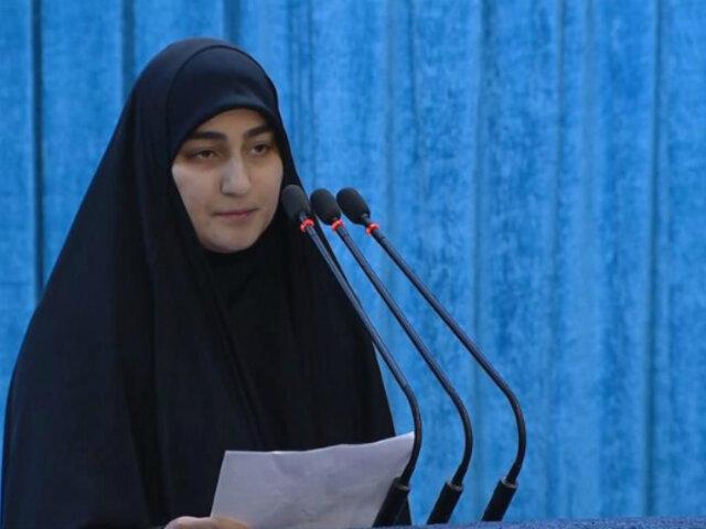 """Hija de Soleimani: """"Loco Trump, no pienses que todo terminó con el martirio de mi padre"""""""