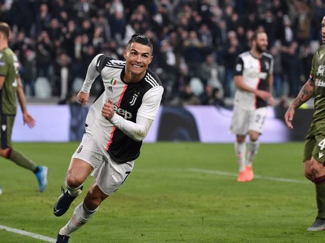 [VIDEO] Cristiano Ronaldo inicia el año con un hat-trick en la Serie A