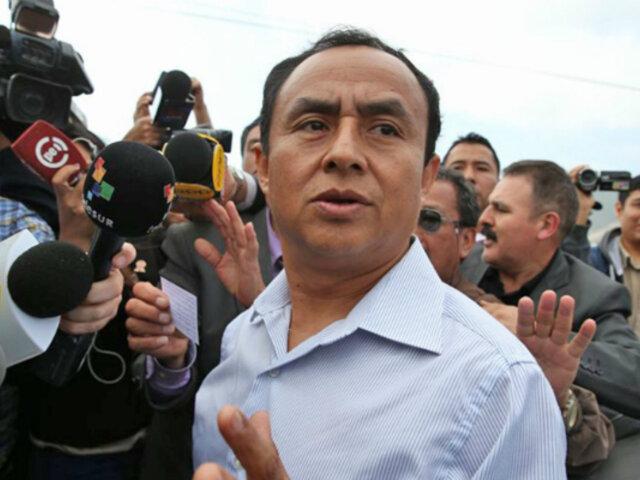 Gregorio Santos: PJ condena a 19 años de prisión a exgobernador por corrupción