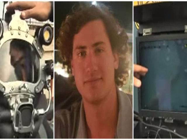Buzos de la Marina usan modernos equipos para encontrar a joven desaparecido en río Cañete