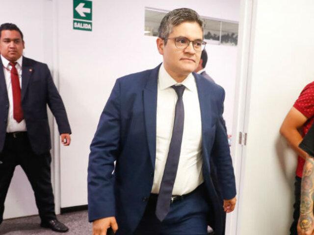 Fiscal José Domingo Pérez denuncia agresión a su esposa en centro de labores