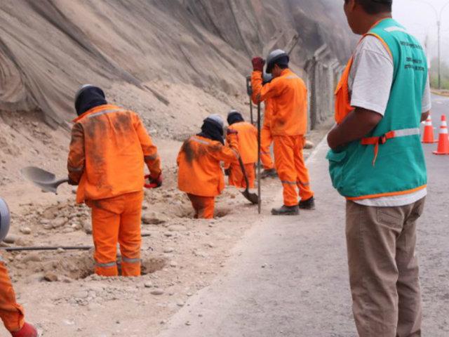 Costa Verde: iniciaron trabajos para colocar cerco perimetral