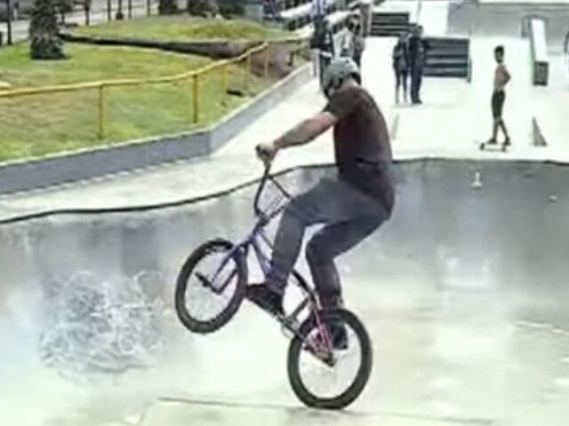 Miraflores: refacción de conocido skatepark costó S/100 mil soles
