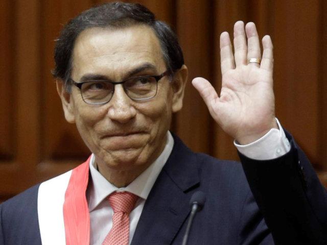 """Vizcarra: """"Seré presidente hasta el 28 de julio del 2021 y no habrá reelección"""""""