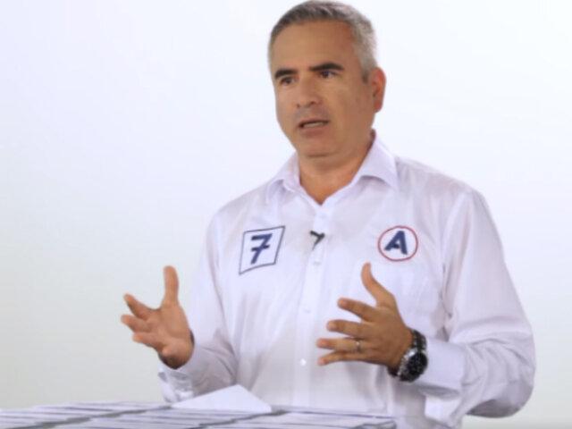 Carlos Vela propone crear Autoridad Única de Seguridad Ciudadana a nivel nacional