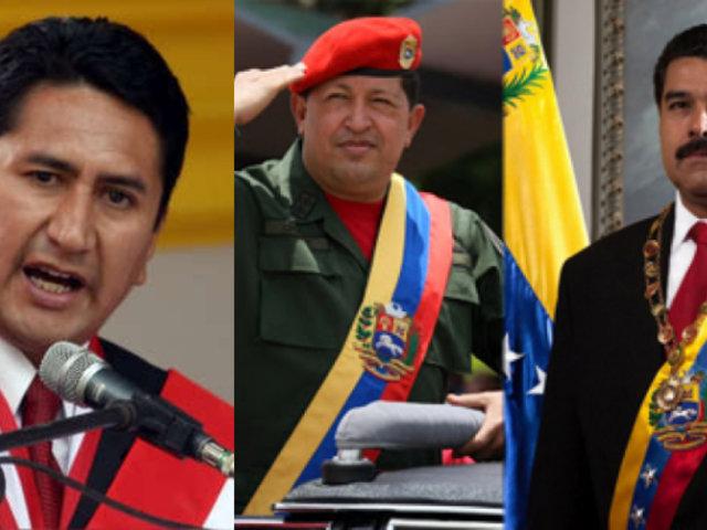 """Vladimir Cerrón reitera su admiración al régimen venezolano: """"el pueblo recuerda a Chávez"""""""