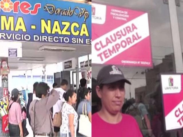 Pasajeros varados tras clausura de terminal Flores por problemas eléctricos
