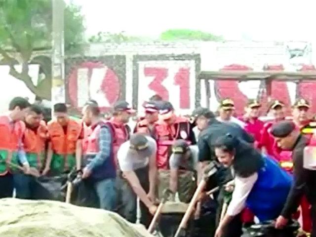 Chaclacayo: cancelan simulacro de huaico por inasistencia de alcaldes