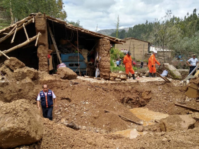 Junín: declaran estado de emergencia en distrito de Ahuac tras caída de huaico