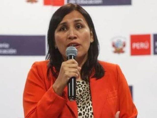 Ministra Pablo sobre feminicidios: Es necesaria una educación igualitaria