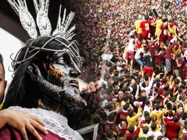 """Filipinas: reportan más de 300 heridos en procesión del """"Cristo Negro"""""""