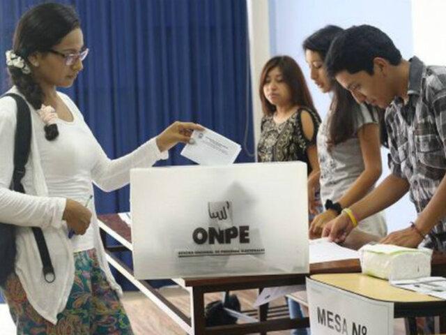 ONPE garantiza seguridad en elecciones de este domingo