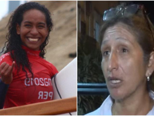 Madre de subcampeona de surf nacional denuncia amenazas de muerte en su contra