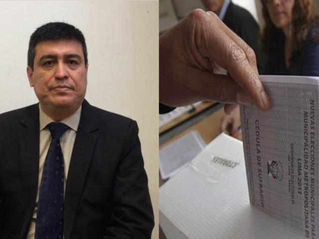 Ibo Urbiola explica a quienes beneficia el voto en blanco, viciado o nulo