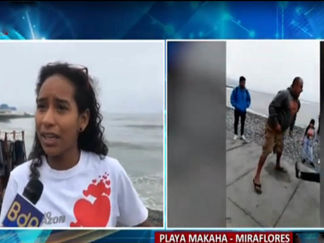 Miraflores: madre de subcampeona de surf es amenazada de muerte