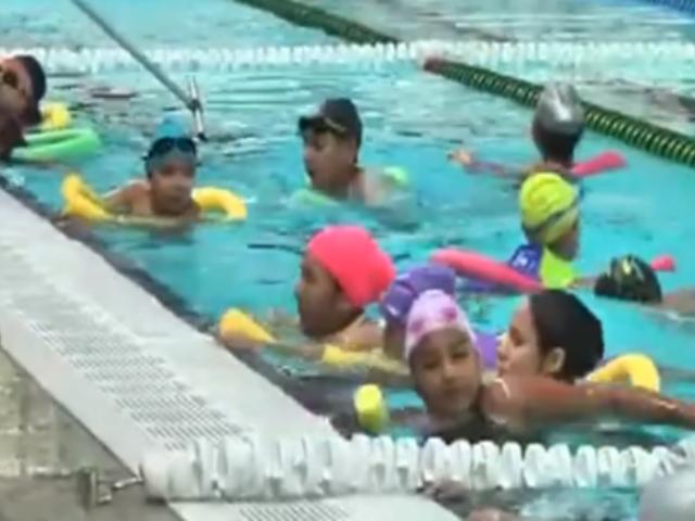 VMT: sedes de Panamericanos entrenan a niños y jóvenes en vacaciones útiles