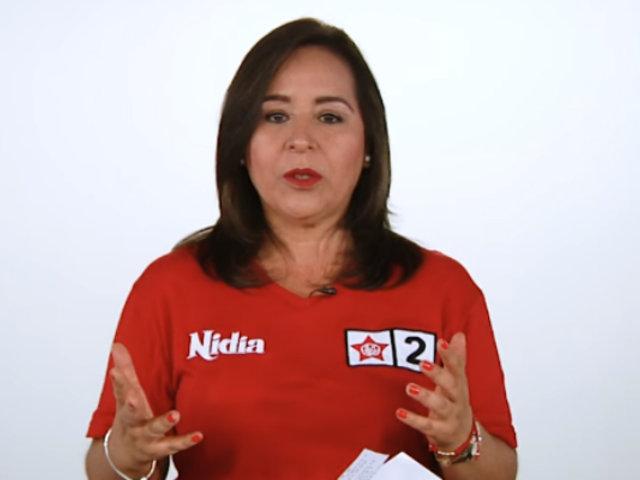 Nidia Vilchez: lucharé por el respeto a derechos de la comunidad LGTBI