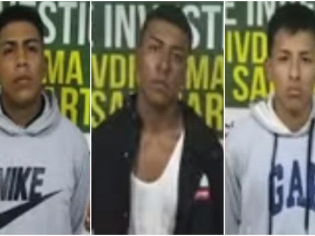 Los Olivos: policía desarticuló peligrosa banda cuando iba a asaltar un establecimiento